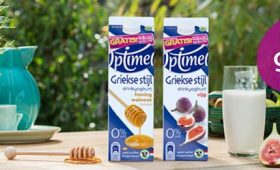 Optimel Griekse stijl drinkyoghurt