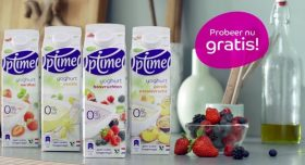 Optimel yoghurt
