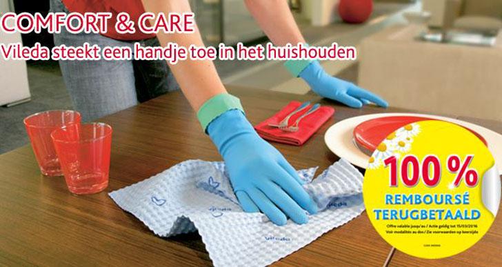 Vileda Comfort & Care huishoudhandschoenen