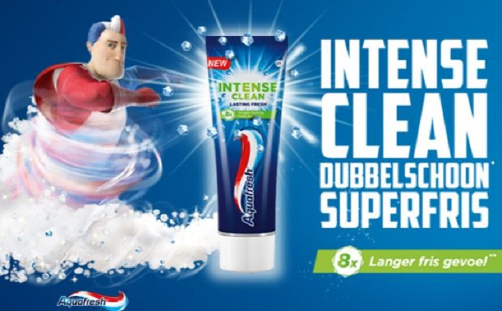Aquafresh Intense Clean tandpasta(Deep Action en Lasting Fresh)
