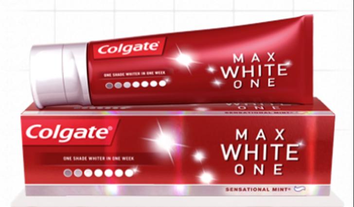 Colgate Max White & Protect 100% terugbetaald